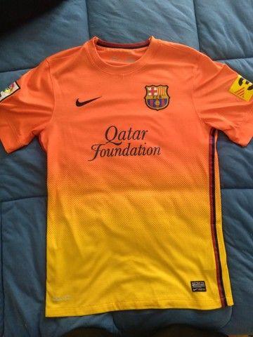 Camisa Barcelona Temporada 2012/2013 Tamanho P