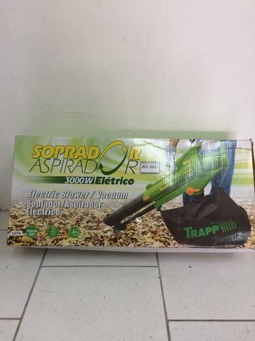 Soprador e aspirador de folhas