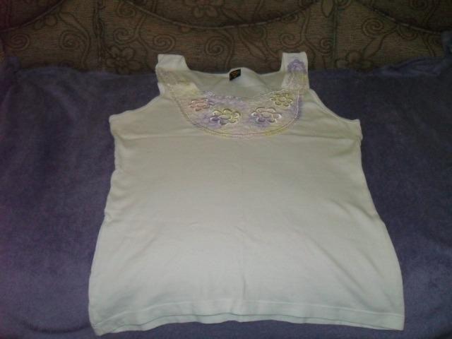 Camiseta branca ( regata ) - Roupas e calçados - Bosque Dos ... c9201f6a137
