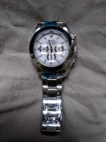 cfece077119 Relógio Rolex Submariner Daytona Aço inoxdavel stainless steel movimento  suíço novo lindo