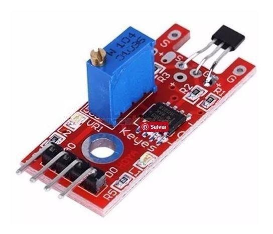 COD-AM90 Sensor Hall Magnético Rpm Esp8266 Arduino Automação Robotica