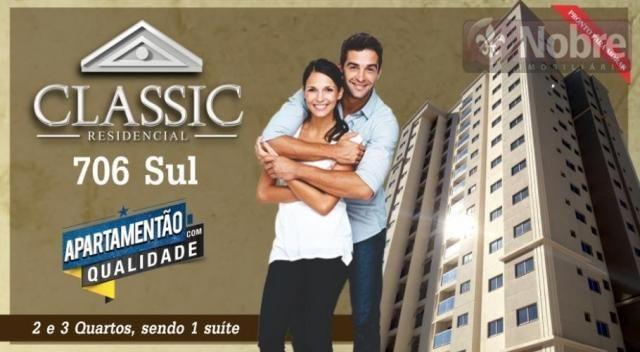 Apartamento com 3 dormitórios à venda, 71 m² por r$ 225.000,00 - plano diretor sul - palma - Foto 17