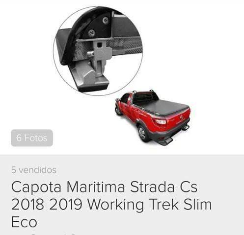 Capota marítima Fiat Strada