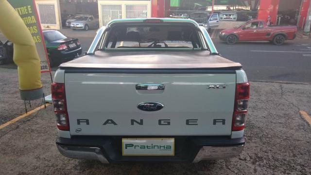 Ranger XLT Cd2 - 4x2 - 2.5 - Branca - Flex -2015- Completa !!! - Foto 6