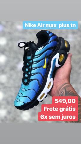 reputable site 799d1 f2ee8 Nike Air max plus tn hyper blue cor limitada