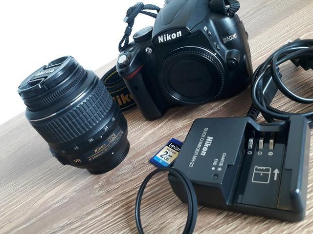 Nikon D5000 | Kit Lente 18 55mm VR