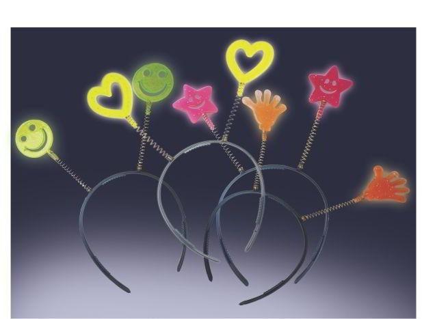 Kit 10 Tiaras Cristal Neon- Brilha Na Luz Negra -( leia a descrição )