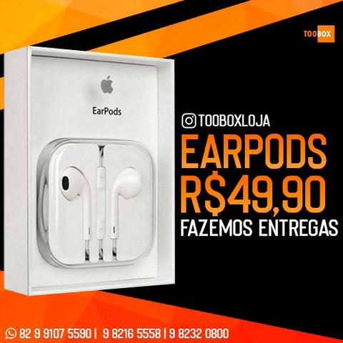 Fone de Ouvido Apple Iphone Earpods Lightning