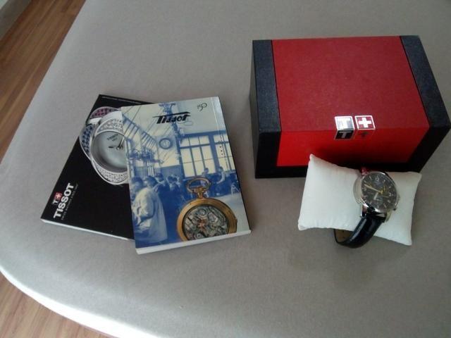 Relógio Tissot parcelo no cartão - Foto 4