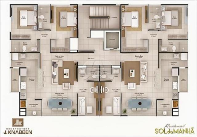 Apartamento à venda com 2 dormitórios em Centro, Balneário camboriú cod:156661 - Foto 7