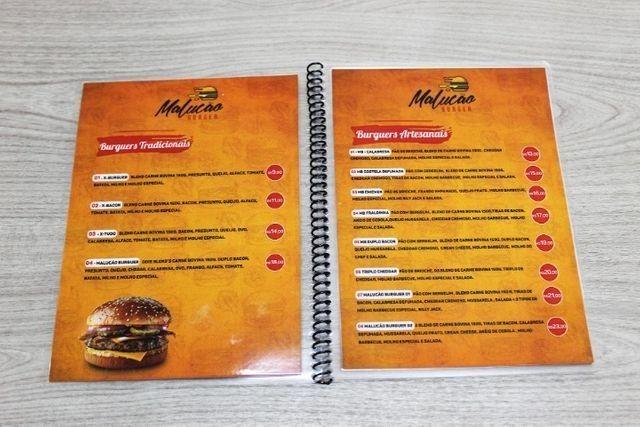 Cardápios para Bares, Restaurantes, Lanchonetes, Hamburguerias e Açaiterias - Foto 2