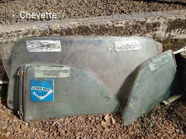 Vidros para carros antigos, opala, Chevette, corcel 2, passat, fusca - Foto 2