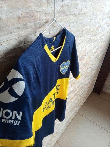 Camisa do Boca Júniors 2018/19 Thailandesa com etiqueta. - Foto 2