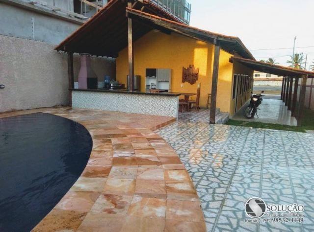 Casa com 4 dormitórios para alugar, 1 m² por R$ 4.800,00/mês - Atalaia - Salinópolis/PA