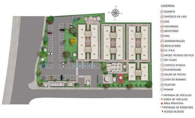 Residencial Mirante dos Pássaros - Apartamento de 2 quartos em Itaquaquecetuba, SP - ID393 - Foto 9