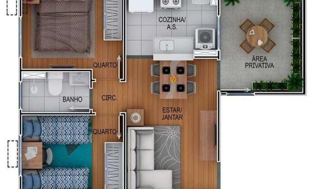 Residencial Porto Amalfi - Apartamento 2 quartos em Gravataí, RS - ID3932 - Foto 6