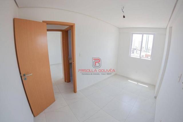 Apartamento 3 quartos no Bessa com varanda gourmet e área de lazer - Foto 14