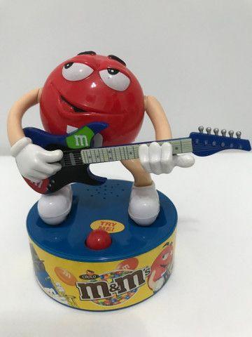 Baterista e guitarrista M&M?s musical colecionável - Foto 5