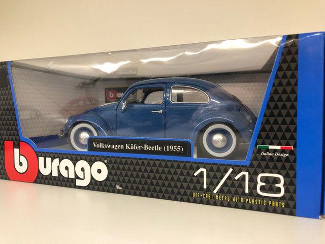 Miniatura Fusca Kafer Beetle Burago 1 18 - Foto 4