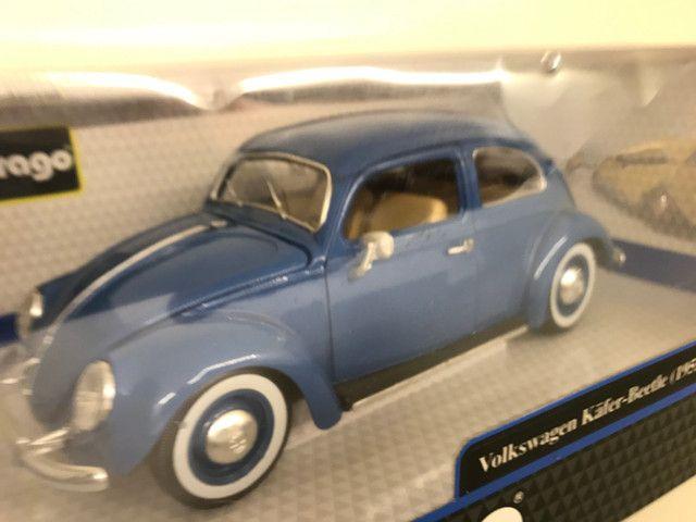 Miniatura Fusca Kafer Beetle Burago 1 18 - Foto 5