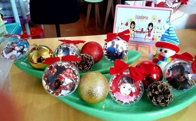Bola de Natal personalizada Largo da Batalha - Foto 2