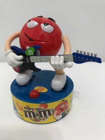 Baterista e guitarrista M&M?s musical colecionável - Foto 6