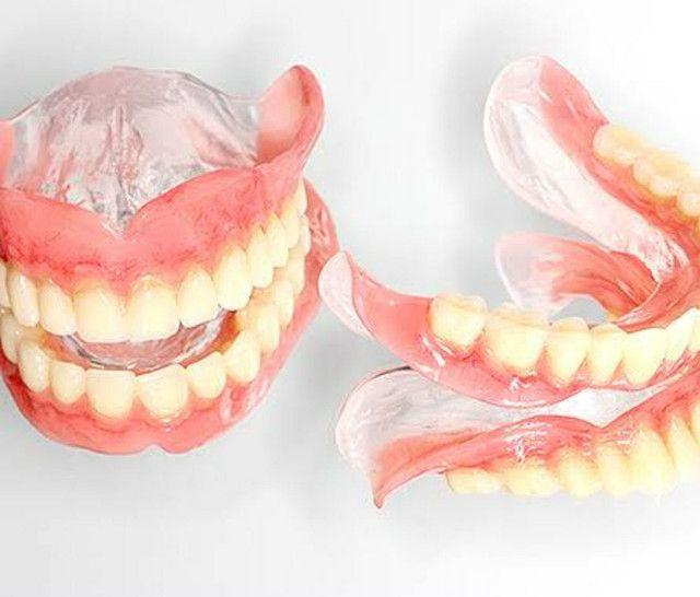 Ponte móvel ,dentadura ,ponte com grampo e protese de silicone ,a partir de 400 - Foto 4