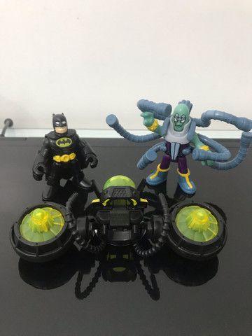 Bonecos Imaginext  Batman e Brianic DC comics  - Foto 2