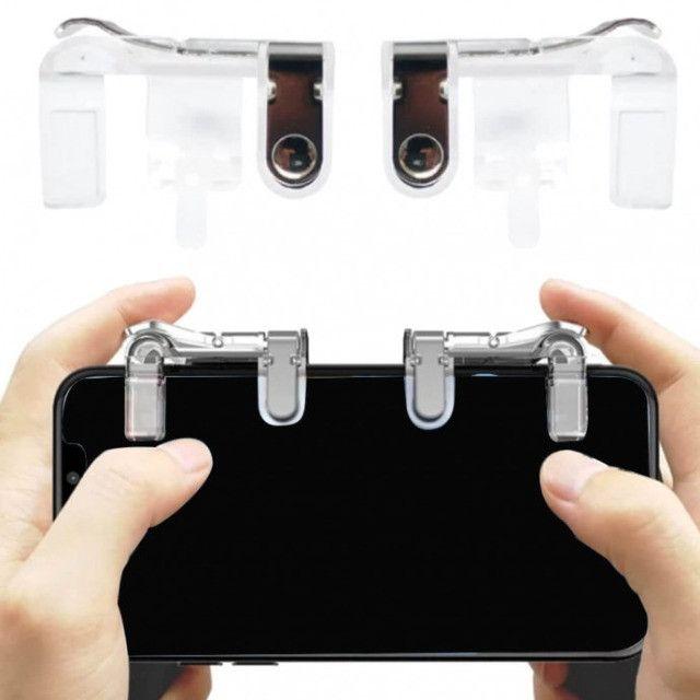 Gamepad Gatilho L1 R1 para celular-Free Fire,PUBG e outros