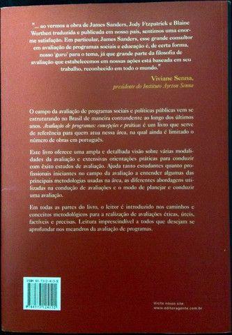 Livro Avaliação de Programas - Concepções e Práticas - Foto 2