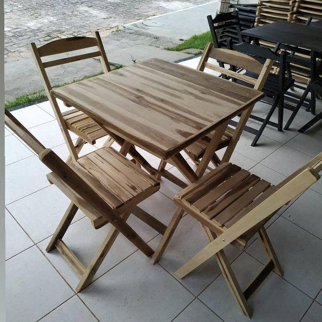 Mesas e cadeiras direto de fábrica  - Foto 4