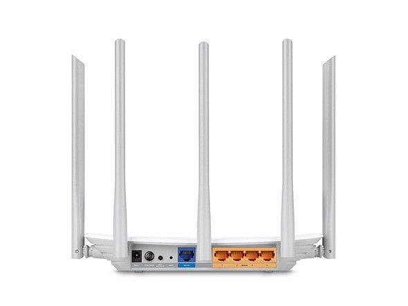 Roteador 5 Antenas Tp-Link Archer C60 V2.1 AC1350 Dual Band Novo - Loja Natan Abreu - Foto 4