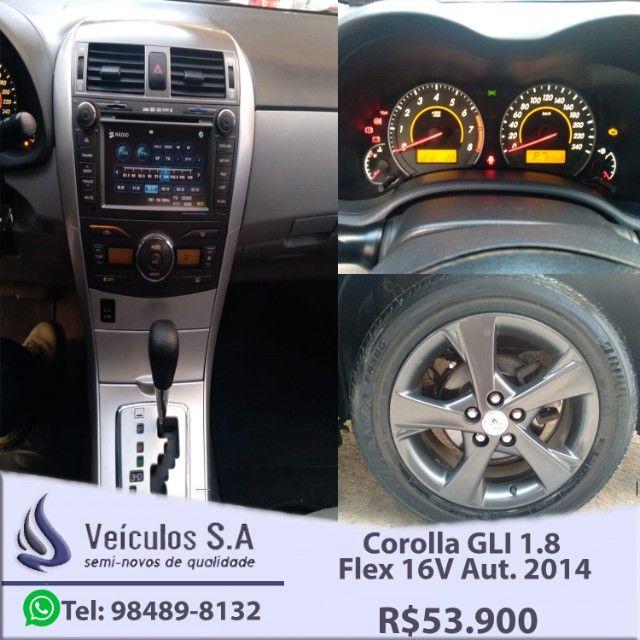 Corolla GLI 1.8 Flex 16V Aut. 2014 - Foto 9