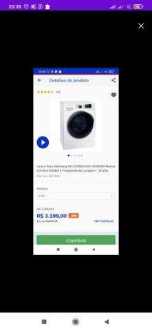 Lava e Seca Samsung Inverter 10,2Kg - Foto 6