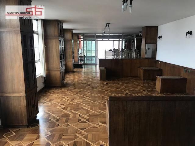 Cobertura 300 m² 4 dorm, sendo 1 empregada, 1 suíte, 3 salas, cozinha e 2 vagas para aluga - Foto 4