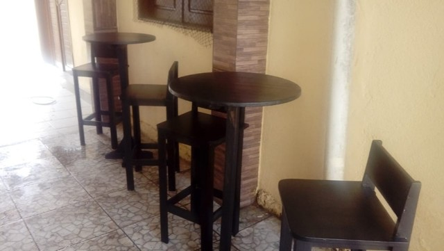 Conjunto bistrol com banqueta fixa - Foto 2