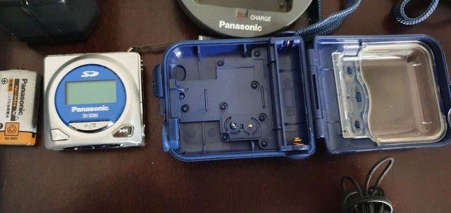 Som portátil  Panasonic e com de som - Foto 3