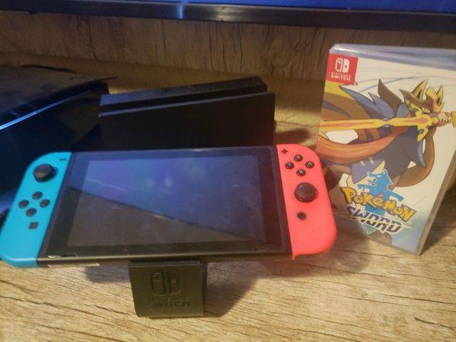 Nintendo switch v2 bateria extendida Completo