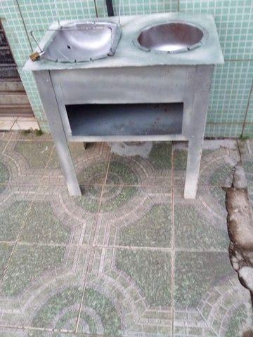 Churrasqueira e fogão - Foto 2