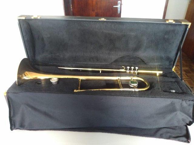 Trombone de Pisto P. Weingrill Edição Especial 100 Anos - Raridade - Foto 3