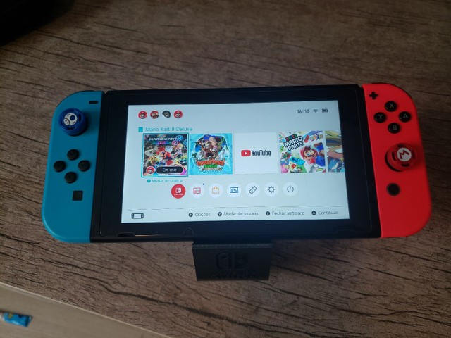 Nintendo switch v2 bateria extendida Completo  - Foto 3