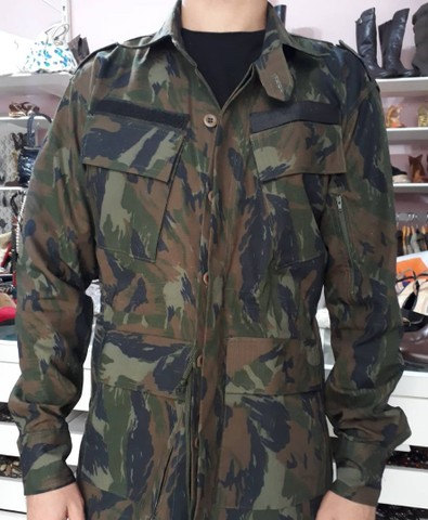 Jaqueta militar camuflada Selva militar