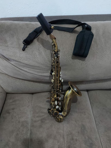 Sax Soprano Curvo Waldmam - Foto 3