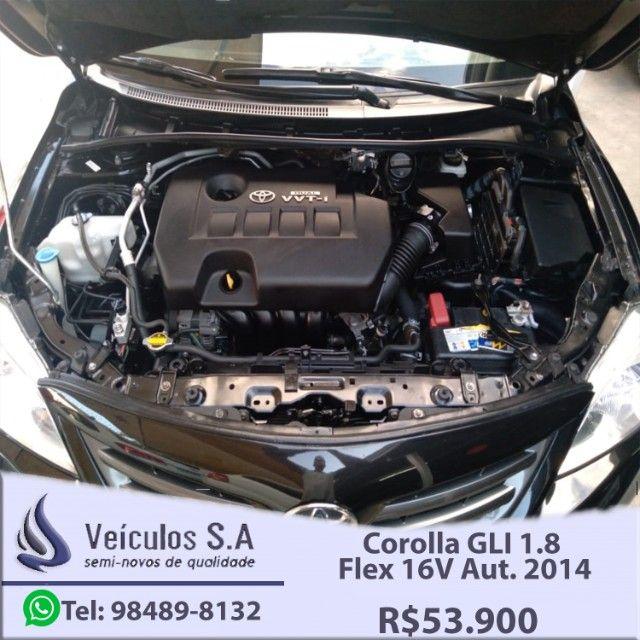 Corolla GLI 1.8 Flex 16V Aut. 2014 - Foto 8