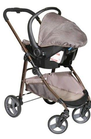 Vendo kit carrinho de bebê galzerano  - Foto 5