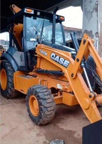 Retro Escavadeira Case 580n ano 2013 (Parcele no boleto) - Foto 4