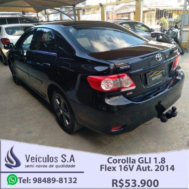 Corolla GLI 1.8 Flex 16V Aut. 2014 - Foto 7