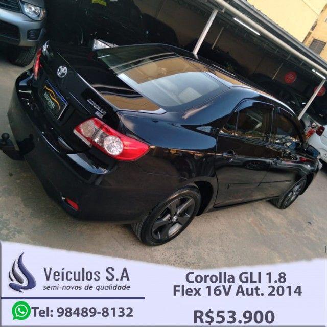 Corolla GLI 1.8 Flex 16V Aut. 2014 - Foto 6