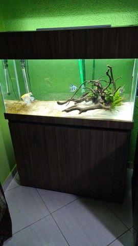 Aquario 200 litros completo  - Foto 4