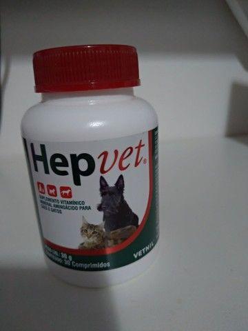 Hepvet Suplemento Para Cães E Gatos 30 Comprimidos<br><br>